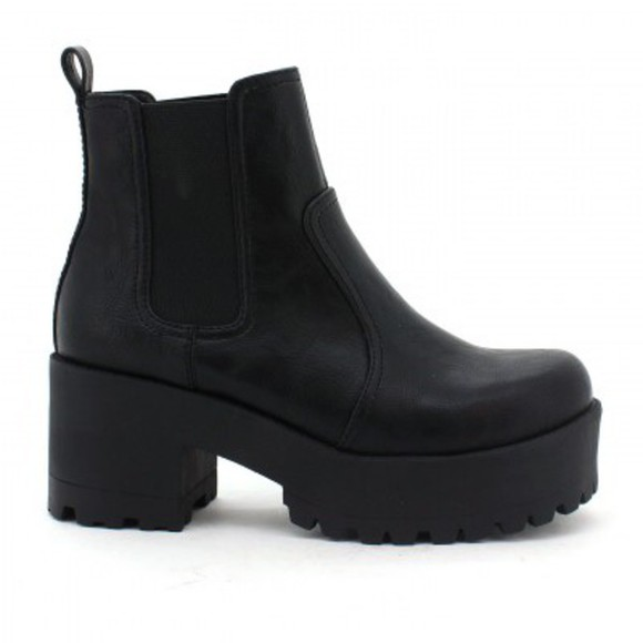 shoes leather boots platform shoes chelsea boots