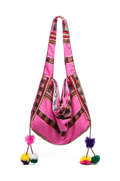 Pitusa beach bag beach bag pink