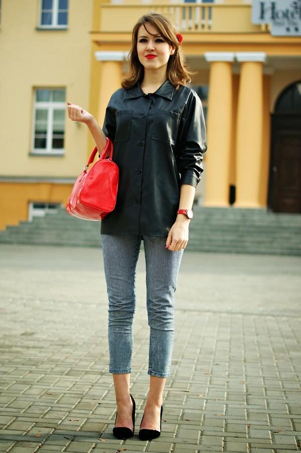madame poupee shirt bag jeans shoes jewels