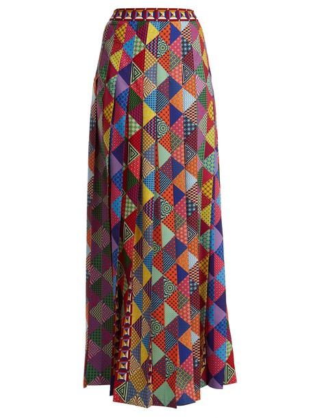 MARY KATRANTZOU skirt maxi skirt maxi pleated