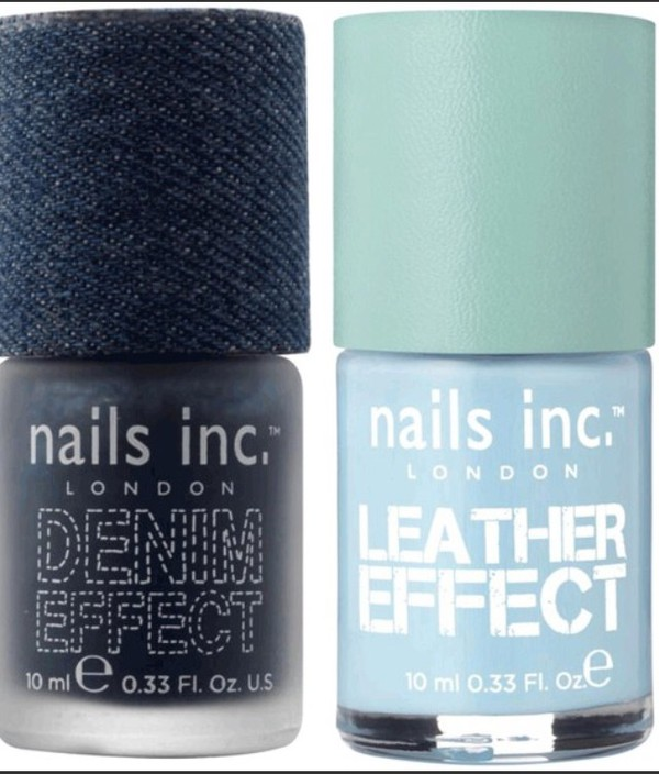 nail polish denim effective special effects nails inc nail art leather make-up
