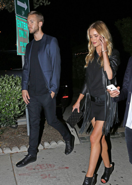 dress rosie huntington-whiteley jacket
