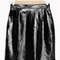 & other stories | patent leather skirt | black