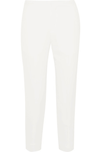 Chloe pants white