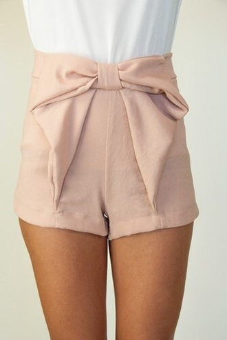 shorts dusty pink