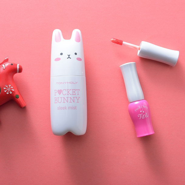 make-up tonymoly face mist pocket bunny lip tint lip balm lip gloss lips skin care cosmetics face care skin korean beauty summer beauty