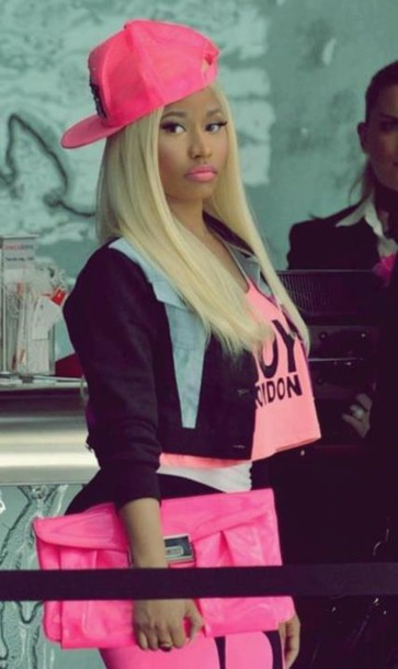 jacket nicki minaj crop tops