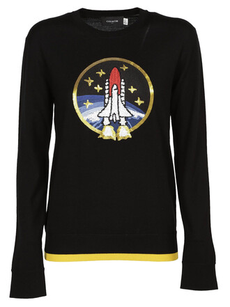 sweater space black