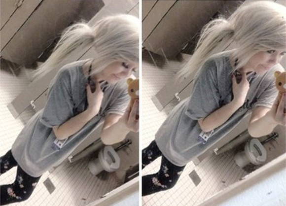grey t-shirt baggy tshirt leggings
