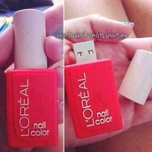 nail polish,l'oréal,cute,summer,nails,amazing,pink,pink nails,celebrity style boutique,celebrity style steal,style,tumblr,tumblr girl,blonde hair,brunette,dress,loreal,usb flash drive,computer accessory