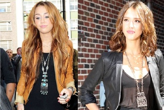 jewels necklace ethnic miley cyrus jessica alba jacket