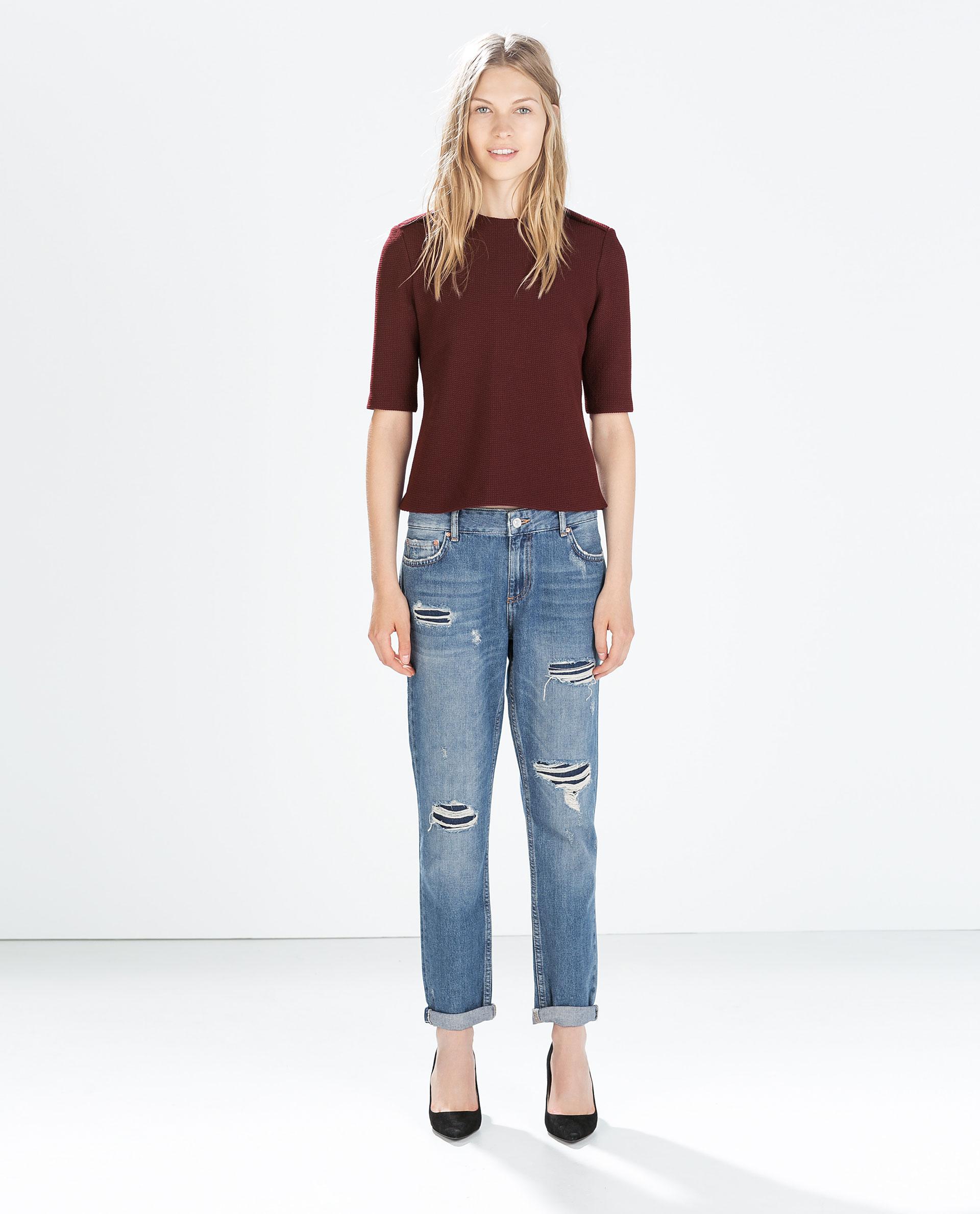 straight fit boyfriend jeans medium rise boyfriend. Black Bedroom Furniture Sets. Home Design Ideas