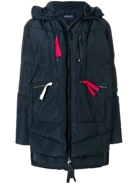 jacket puffer jacket women blue