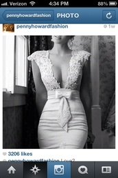 dress,lace,lace dress,white,short dress,bow