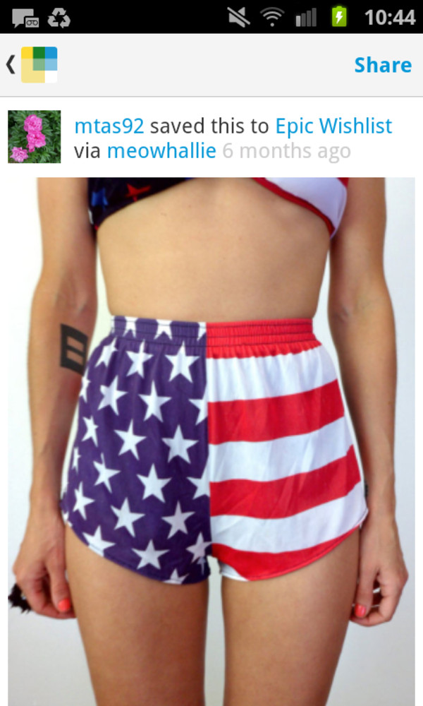 shorts american flag shorts red white blue