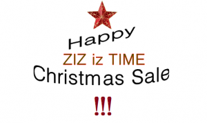 Happy Christmas Sale! | ZIZ iz TIME