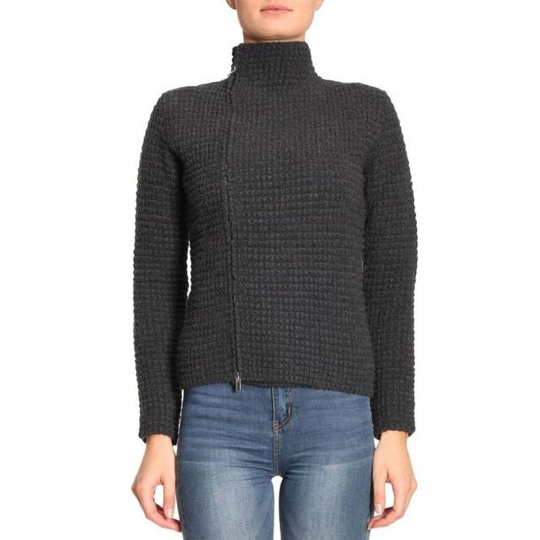 Eleventy sweater women charcoal