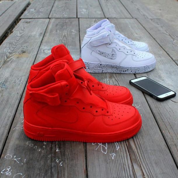 on sale b74ec e5ad7 shoes nike air nike air force 1 high top nike air force 1