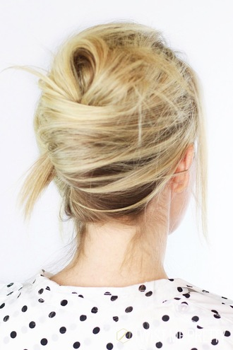 le fashion image blogger hairstyles blonde hair