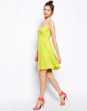 ASOS | ASOS Pleated Mini Dress at ASOS