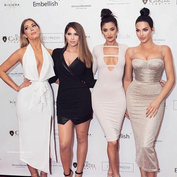 dress party dress silver dress white dress black dress bodycon dress midi dress
