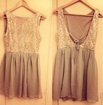short dress new year's eve glitter dress light color dress