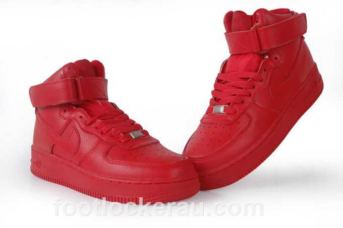 red air force ones