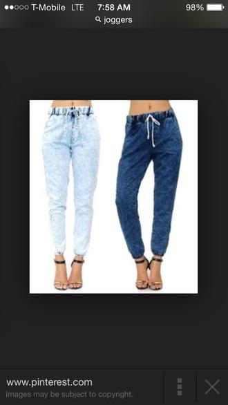 jeans joggers bomb