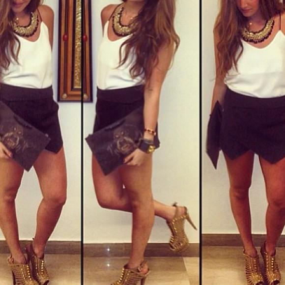 asymmetrical skirt asymmetrical skirt short skirts skort skorts black skort asymmetrical skort