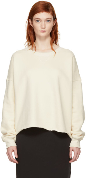 Simon Miller sweatshirt white off-white sweater