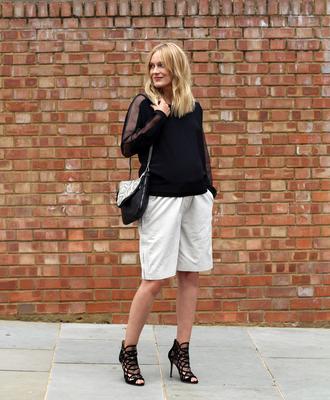 shoes bag blouse blame it on fashion