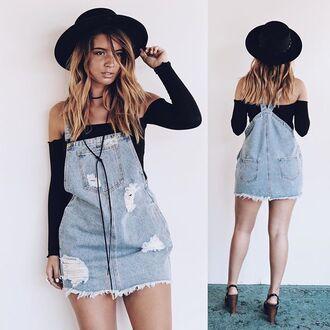 dress amazing lace overalls jumper denim overalls