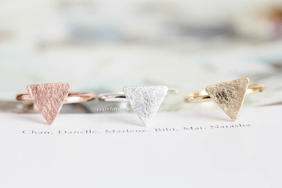 triangle plate ring