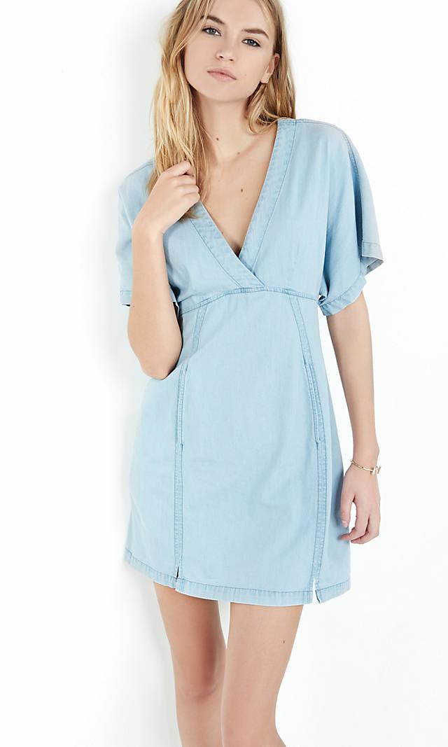 Short Kimono Sleeve Dress from EXPRESS
