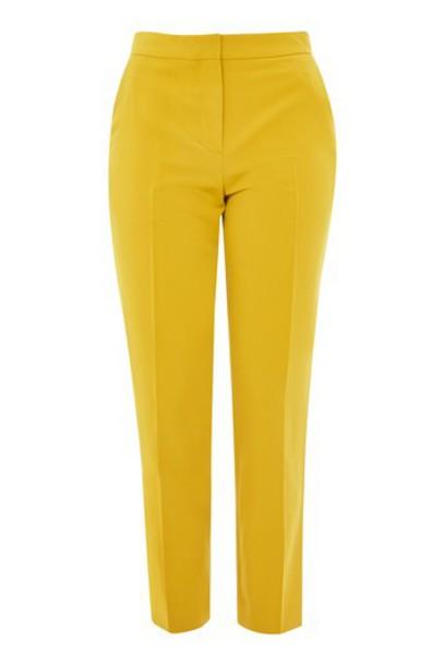 Topshop mustard pants