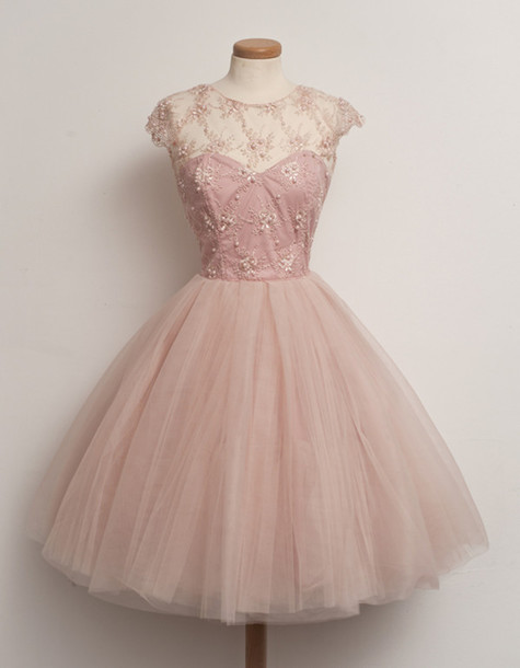 dress, pink, prom dress, pink dress, patterned dress, dress, puffy ...