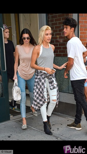 jeans kendall jenner shoes