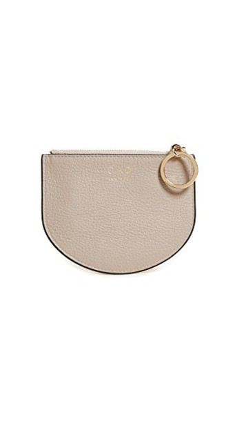 OAD mini pouch taupe bag