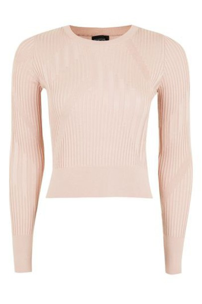 Topshop top pale pink
