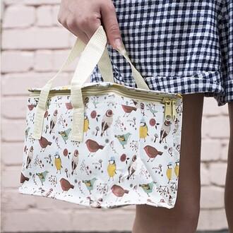 bag birds british lunch food cute design hipster
