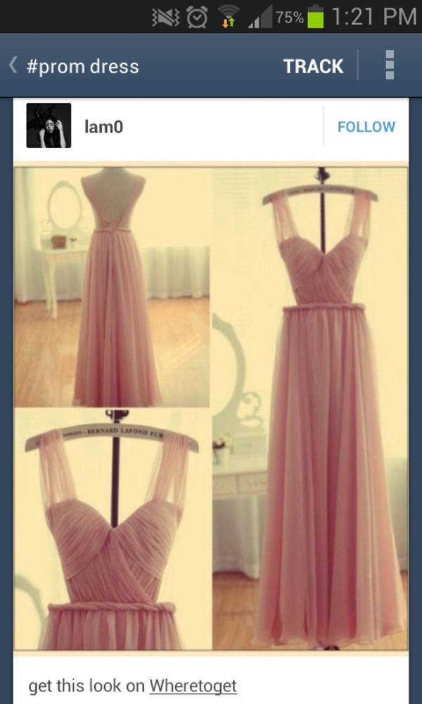 dress prom open back open back dresses long evening dress formal dress chiffon dress chiffon