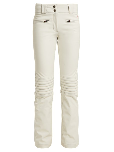 Perfect Moment flare white pants