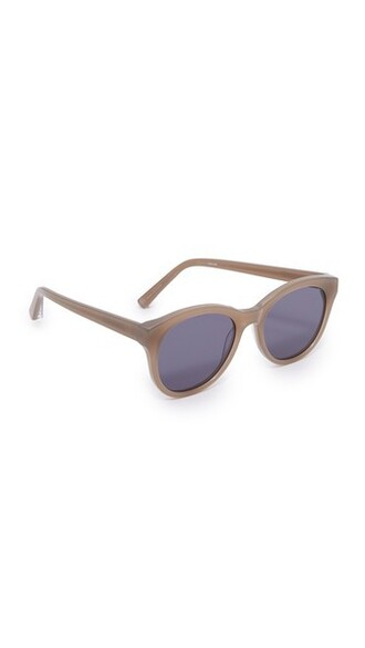 sunglasses blue khaki
