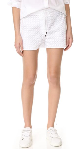 Versace Drawstring Shorts - Bianco Ottico