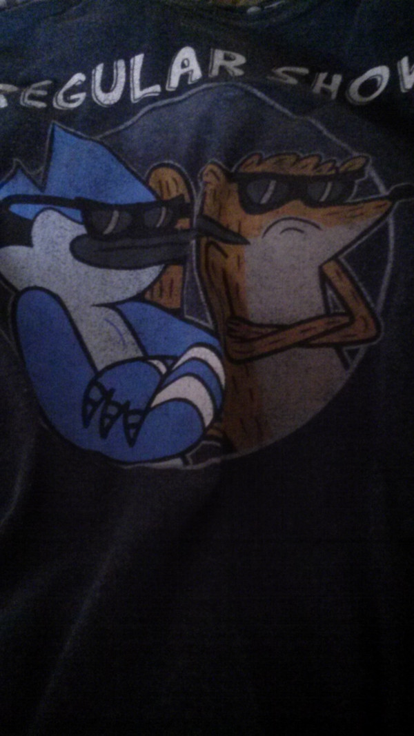 shirt regular show mordicai rigby