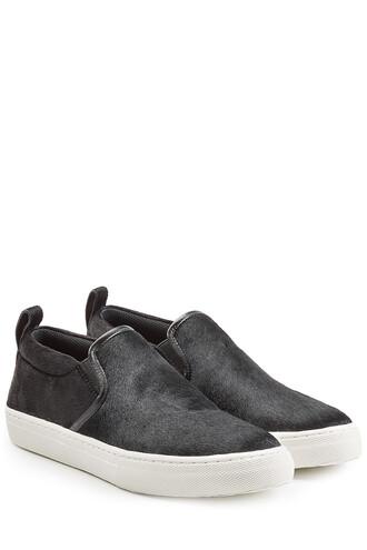 hair sneakers black shoes