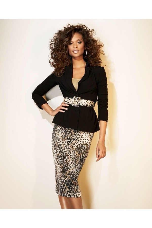 skirt leopard print pencil skirt