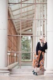 british fashion blog - mediamarmalade,blogger,sweater,shoes,bag,winter outfits,shoulder bag,green boots,boots