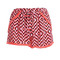 Neon coral print pom pom shorts | betsy boo's boutique - free shipping always!