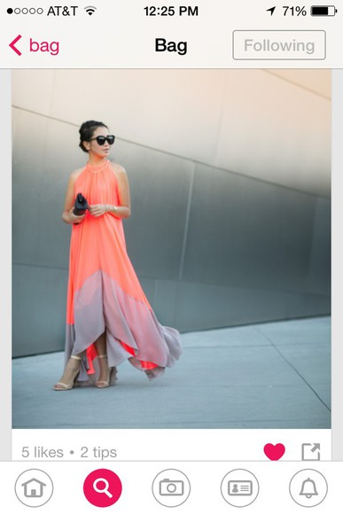 dress gold cute dress fashion style peach dress flowy dress high heels bag sunglasses hot hat necklace bracelets earrings anklet